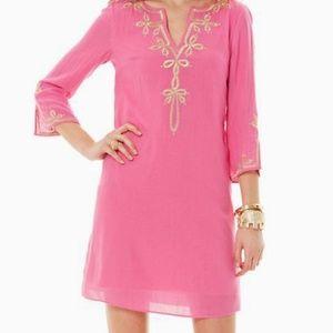 Lilly Pulitzer Hotty Pink Copeland Tunic Dress